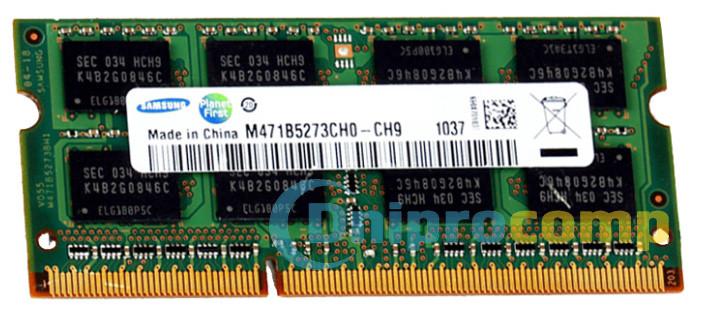 Модуль памяти SO-DIMM DDR3 2GB 1333MHz в ассорт.