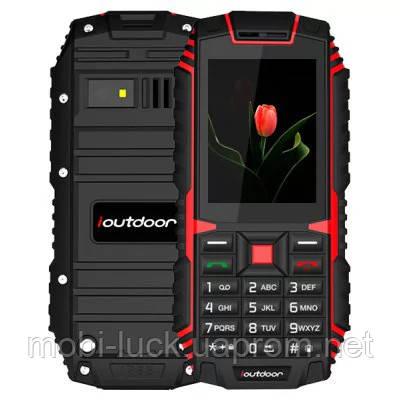Водонепроницаемый iOutdoor T1 IP68  2.4 дюйма,2 сим,2 Мп,2100 мА/ч.