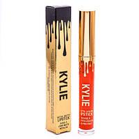 Жидкая матовая помада KYLIE Metal Matte Lipstick 12 в 1