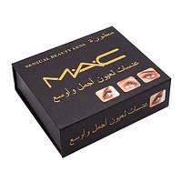 Линзы зеленые косметические MAC Sensual Beauty Lens (Gemstone Green)