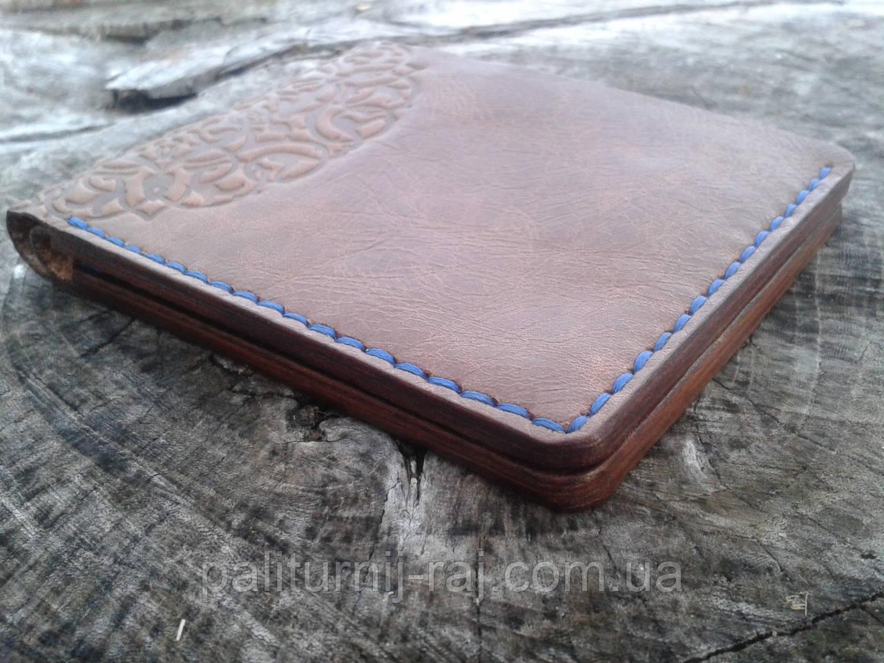 bd3473233010 Мужское кожаное портмоне ручной работы, цена 700 грн., купить в Киеве —  Prom.ua (ID#703867391)