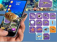 Обучающие интерактивные карточки виртуальной реальности зоопарк Fancy zoo 4D
