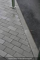 Кирпич стандартный без фаски (серый) 6см.