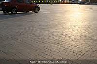 Кирпич стандартный без фаски (цвет на сером цементе) 6см.