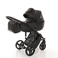 Детская универсальная коляска 2 в 1 Junama  Enzo 04, черная, фото 1