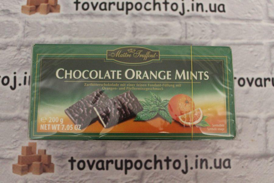 Мята з апельсином в шоколаді
