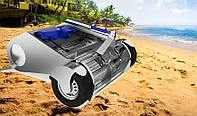 Машина RMZ SM-1 для очистки пляжа от мусора