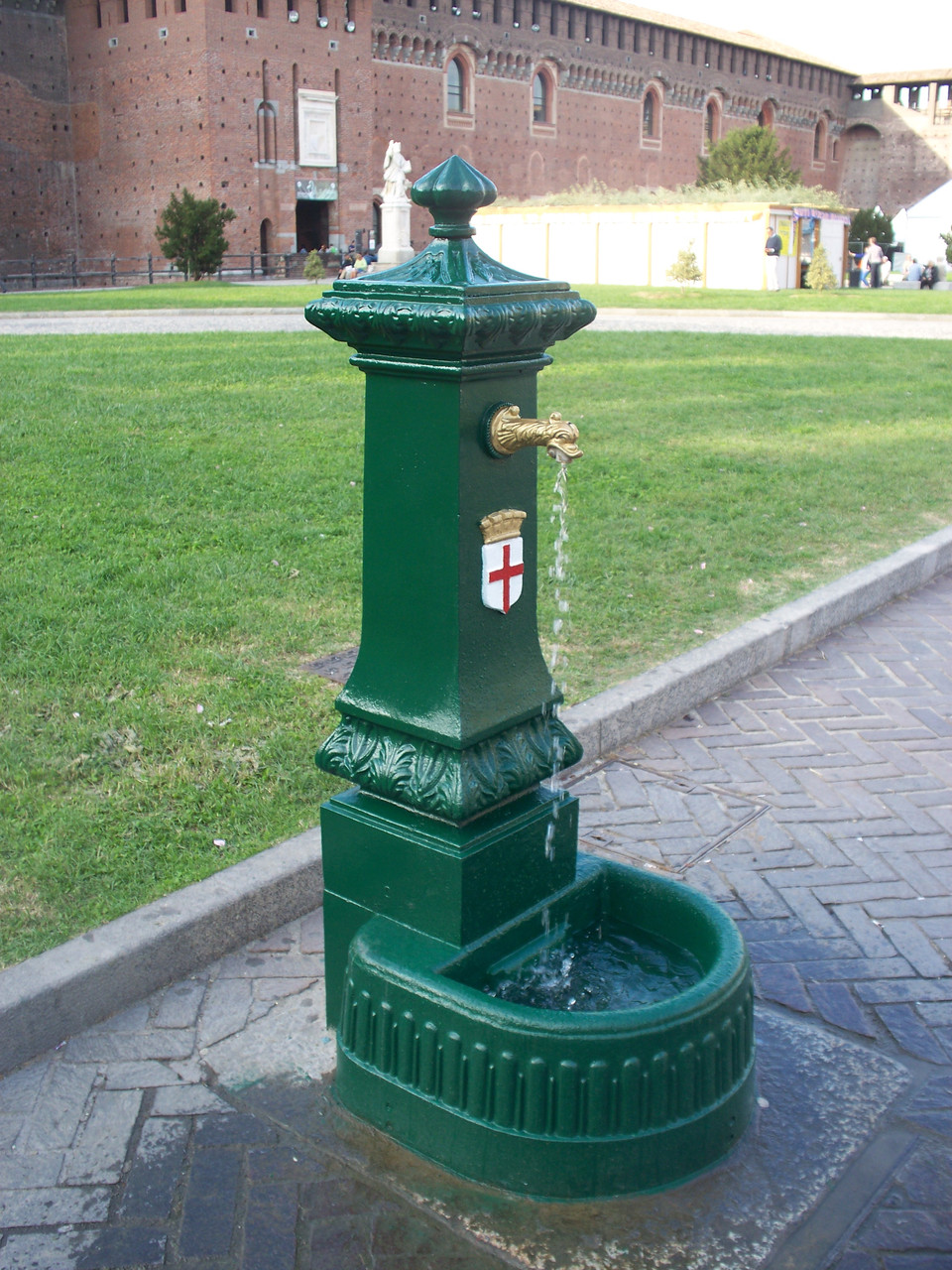Паркова колонка для води MILANO Grande