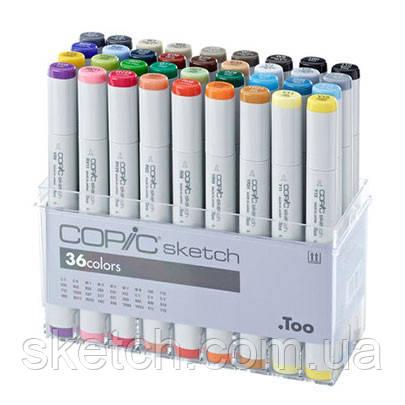 Набір маркерів Copic Sketch Set - 36 шт/уп