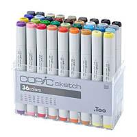 Набор маркеров Copic Sketch Set - 36 шт/уп