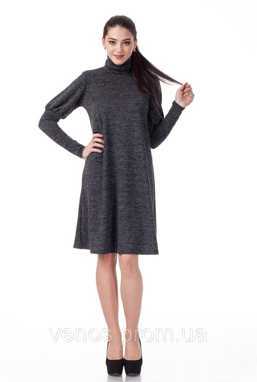 Женское платье гольф свободного кроя. П099