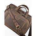 Кожаная сумка для документов и ноутбука Vatto, фото 7