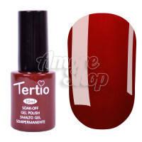 Гель-лак Tertio №047 (бордово-красный, эмаль), 10 мл