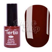 Гель-лак Tertio №048 (шоколадный, эмаль), 10 мл