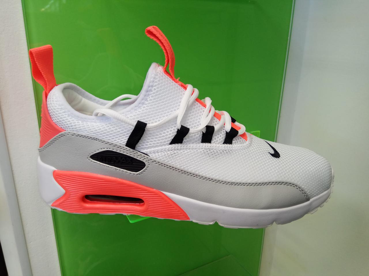 6c341248b681c0 Мужские кроссовки Nike Air Max 90 EZ White & red & grey - Интернет магазин  krossovkiweb