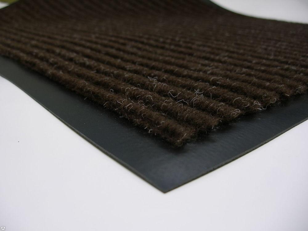 Влаговпитывающий коврик придверный с кантом 38 х 58