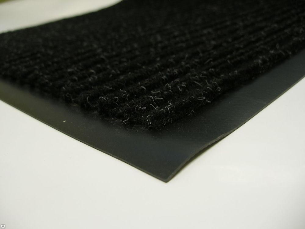 Коврик 60 х 90 см черный