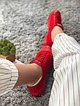 Кеды Converse All Star Женские конверс -  Red (конверсы низкие). Топ Реплика, фото 2