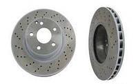 Тормозной диск передний на Mercedes (Мерседес) CL W215 / S w220 (оригинал) A2204210912