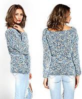 Теплый мохеровый свитер,, фото 1