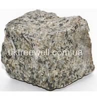 Бруківка з каменю Роговка (зелена) 10Х10Х5 Доставка в будь-яку точку України.