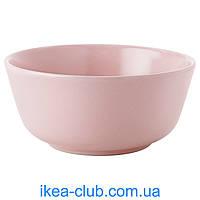Миска IKEA ДИНЕРА 803.182.31 светло-розовый