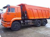 Вывоз строительного мусора нашими самосвалами 30 т.