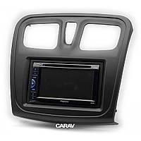 Рамка перехідна Carav 11-762 Renault/DACIA Logan 2013+, Sandero 2012+
