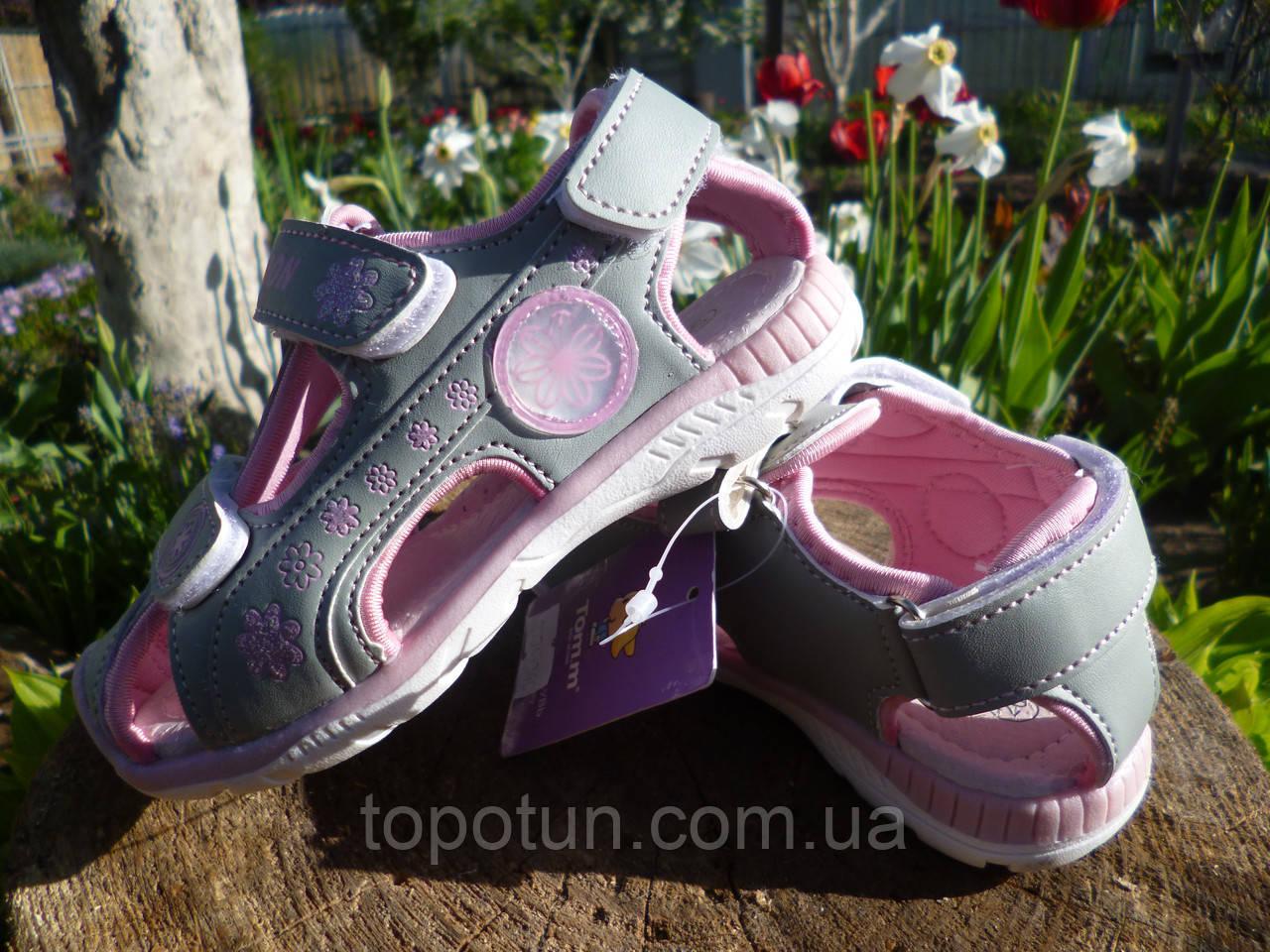 """Детские сандалии для девочки """"Tom.m"""" Размер: 28,30,31"""