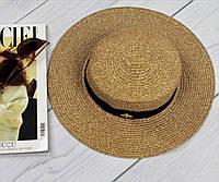 Женская красивая соломенная шляпа , фото 1