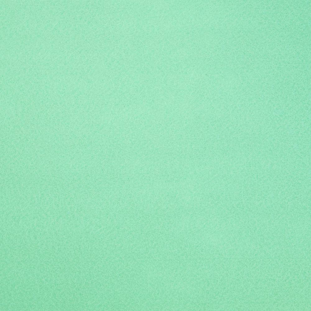 Фетр корейский жесткий 1.2 мм, 22x30 см, МЯТНО-ЗЕЛЕНЫЙ 863
