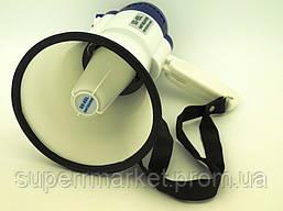Громкоговоритель переносной  рупор, мегафон  Portable Megaphone SD-8SL 15W, фото 3