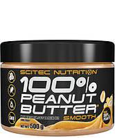 100% Peanut Butter (500 g) арахисовая паста Scitec Nutrition
