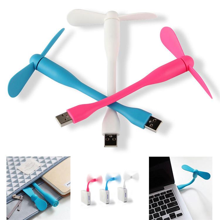 Вентилятор гибкий USB, D=90мм