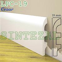 Плинтус из дюрополимера Cezar Elegance LPC-19, H-98mm.