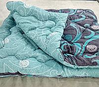 Одеяло шерстяное двуспальное евро, двухстороннее, тёплое, плотность 650г/кв.м
