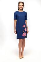 """Сукня лляна жіноча """"Квітки лотоса"""" розміри в наявності, фото 1"""