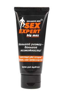 """КРЕМ ДЛЯ МУЖЧИН """"BIG MAX"""" серия Sex Expert 50г"""