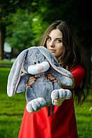 Плюшевый кролик Кнопа 55см.