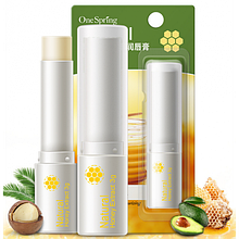 Гігієнічна помада-бальзам One Spring з медовим екстрактом. 3 р