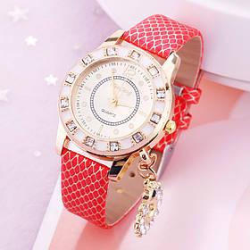 Женские наручные часы KimSeng с лебединой подвеской