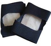 Турмалиновые налокотники с биофотонами (накладки для рук)
