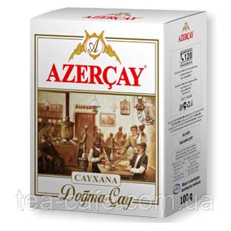 """Чай Азерчай чорний з ароматом бергамоту """"Чайхана"""",100 гр."""