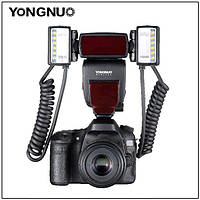 Автоматическая накамерная макро-вспышка Yongnuo YN24EX для Canon (E-TTL, LED), фото 1