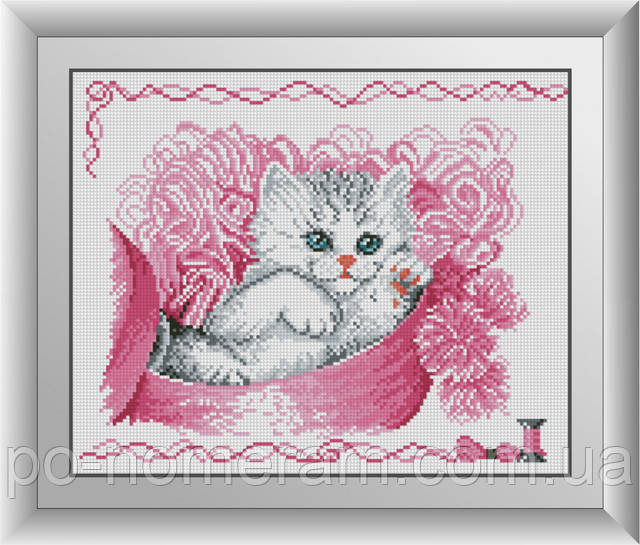 алмазная мозаика кошка