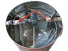Медогонка 3-х рамкова нержавійка (Чарунка) з поворотними касетами