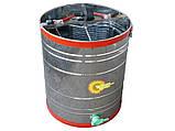 Медогонка 3-х рамочная нержавейка (Чарунка) с поворотными кассетами, фото 2