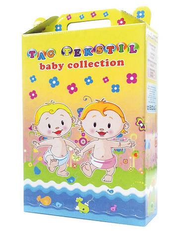 ТМ TAG Детский комплект Обезьянки, простынь на резинке, фото 2