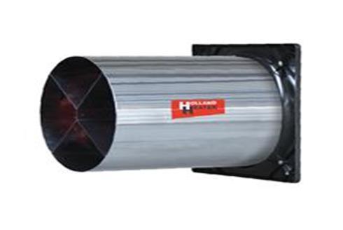 Водонепроникний вентилятор Holland Heater серії CAF45 MF трифазний