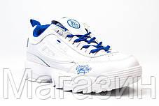 Женские кроссовки Fila Disruptor 2 White HolyPop Фила Дисраптор 2 белые, фото 2